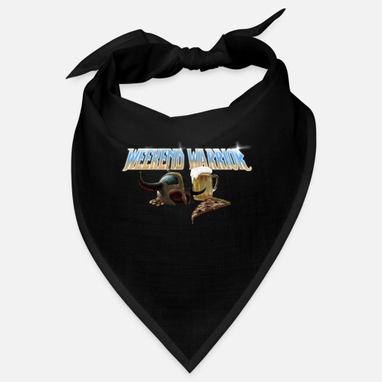 Shield Bandanas - weekend warrior metal - Bandana noir
