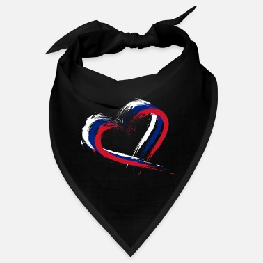 Hair Brush Heart brush flag of New Zealand flag - Bandana