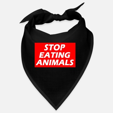 STOP EATING ANIMALS - Bandana
