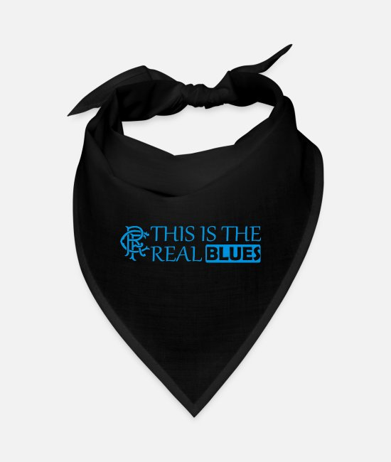 Therapy Bandanas - this is the real blues 02 - Bandana black