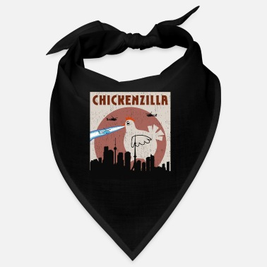 Hilarious Chicken Gifts for Chicken Lovers Chickenzilla Hila - Bandana