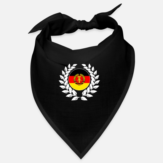 Nostalgia Bandanas - GDR East Germany German Democratic Republic - Bandana black