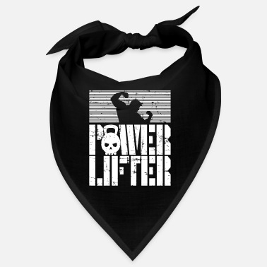 Lifting Power Lifter - Power Lift - Fitness Gymwear Motiv - Bandana