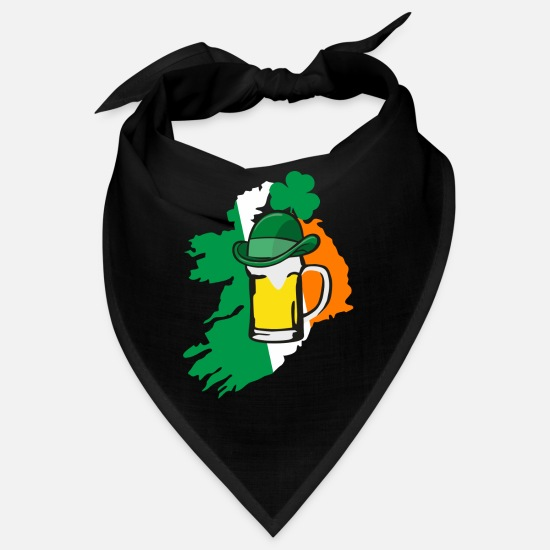Irish Bandanas - Irish beer - irisch - Bandana Schwarz