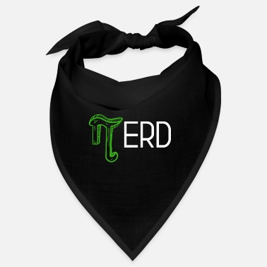 Bookworm Nerds Root Pi Math Team Geek Design - Bandana