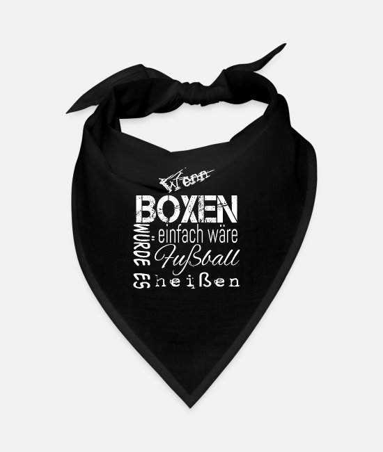 Fighter Bandanas - boxer - Bandana black