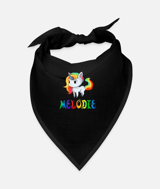 Wind Instrument Bandanas - Unicorn tune - Bandana black