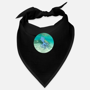 Under Water calamari under water - Bandana