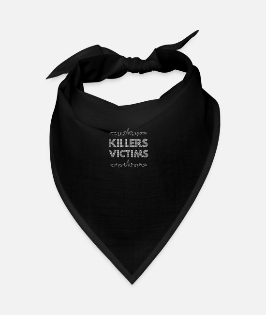 Victims Bandanas - Killer victims 05 - Bandana black