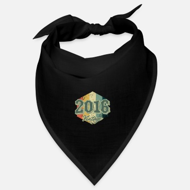 2016 3rd Birthday Celebration Gift 2016 Vintage Retro - Bandana