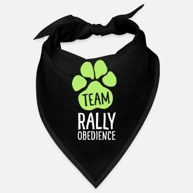 Rally Obedience Team Rally Obedience - Dog Paws - Dog Sport - Bandana