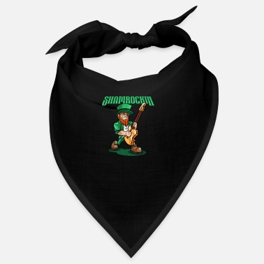 Eguitar Shamrockin - Rocking Leprechaun With EGuitar - Bandana