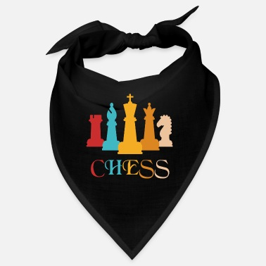 Chess Chess chess Chess piece Chess board Checkmate - Bandana