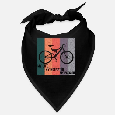 Trains Bike shirt cycling cycling gift - Bandana