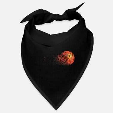 Graphic Art Basketball Decomposing Graphic Art - Bandana