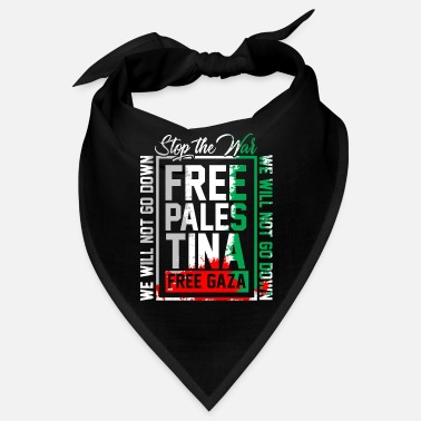 Strip Freedom for Palestine Gift Gaza Israel - Bandana