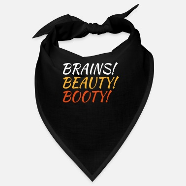 Gym Brains Beauty Booty, Fitness and Gym Gift, Gym - Bandana
