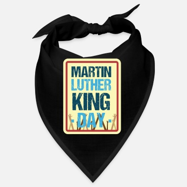 Erinnerungsfeier Martin Luther King Tag - Bandana
