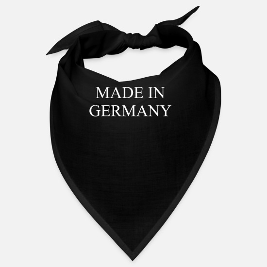Made In Germany Bandanas - made in germany - Bandana Schwarz