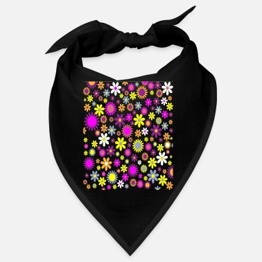 Hippie Hippie Flower Power T-Shirt - Bandana