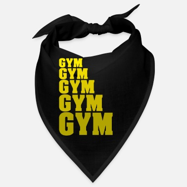 Gym Gym Gym Gym Gym Gym Fitess Gym weights - Bandana