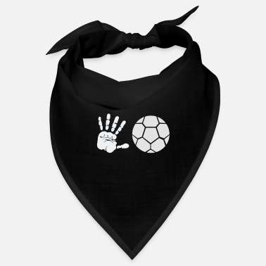 Best Sport Of Handprint and ball - Bandana
