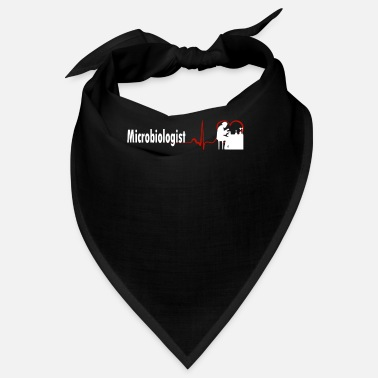 Stylish STYLISH MICROBIOLOGIST HEARTBEAT DESIGN - Bandana