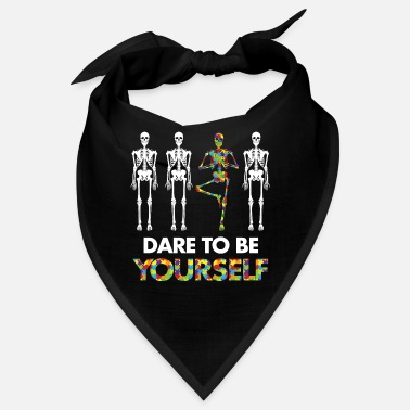 Dare Autism - Dare to be yourself - Bandana