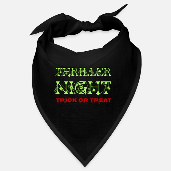 Vampyr Bandanaer - Thriller Night Trick Or Treat - Halloween - Bandana sort