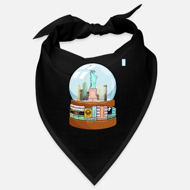 Charade New York Broadway Snow Globe Funny Gift - Bandana