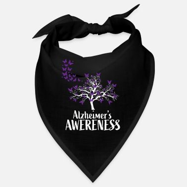 Awareness Alzheimers Awareness Support - Bandana