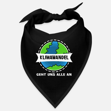Affection Climate change affects us all - Bandana