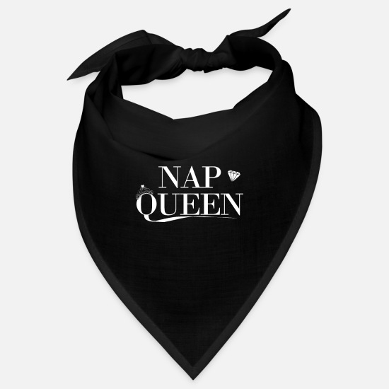 Sleep Bandanas - Nap Queen - Bandana black
