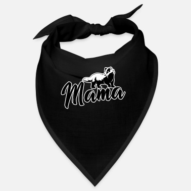 Beast Mama Honey Badger Feisty Marten Ratel Thief Gift - Bandana