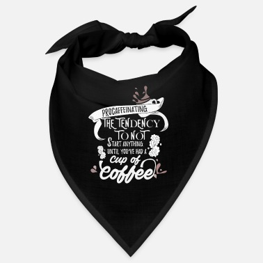 Spice Coffee Shop Bean Shop Caffeine Break Barista Gift - Bandana