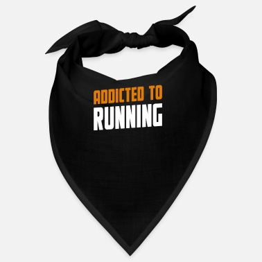 Hobby Addicted To Running Lopning Gift - Bandana