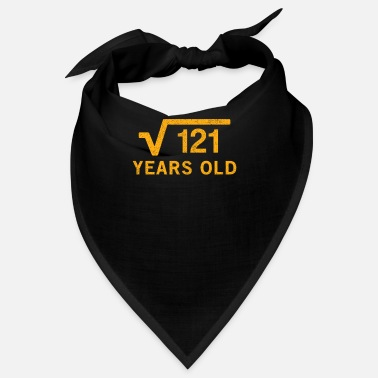 Root 11Square root of 121 11 years old 11th Birthday gi - Bandana