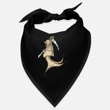 Grim Reaper Godfather Death Horror Fan Gift - Bandana
