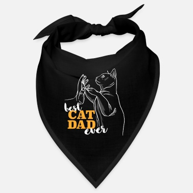 Siam Best Cat Dad Ever I Best cat dad in the world - Bandana