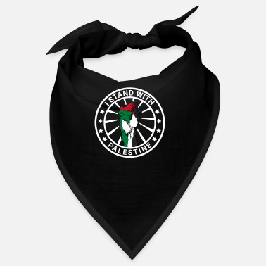 Strip I Stand With Palestine Freedom For Palestine - Bandana
