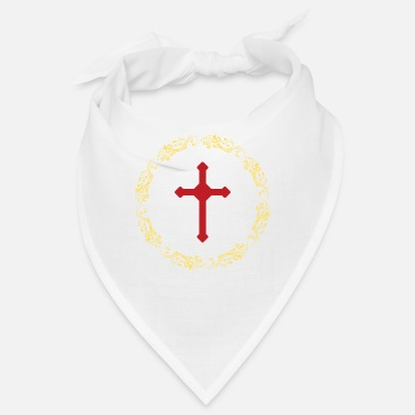 Croce Circles Gold Cross Faith - Bandana