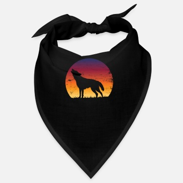 Grey Wolf lover gift idea - Bandana