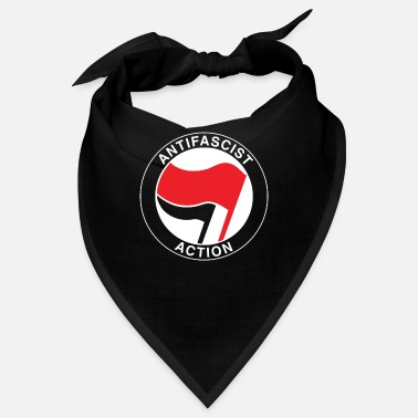 Antifascist Antifascist flag antifa - antiracism antifascist - Bandana