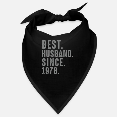 1978 Best. Husband. Since. 1978 41st Wedding - Bandana