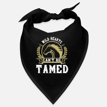 Foal Horse - Wild hearts can t be tamed - Bandana
