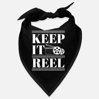Glamour Funny Keep It Real Filmmakers Film Lovers Gift - Bandana