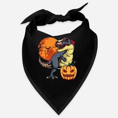Dinosaur T-rex Pumpkin Mummy Boys Halloween Party - Bandana
