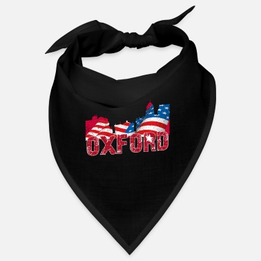 Oxfordshire Bandiera vintage retrò di Oxford USA - Bandana