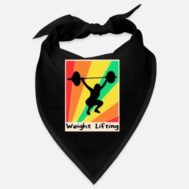 Lifting Weight Lifting poster Lifting - Bandana