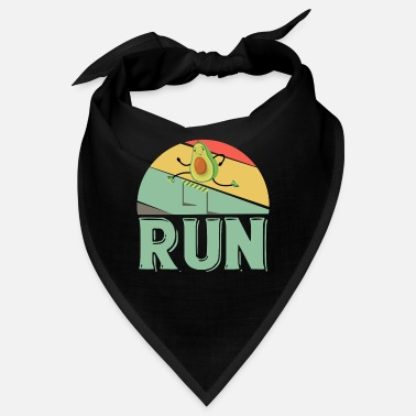 Run Avocado Laufen Läufer Marathon Marathonläufer - Bandana